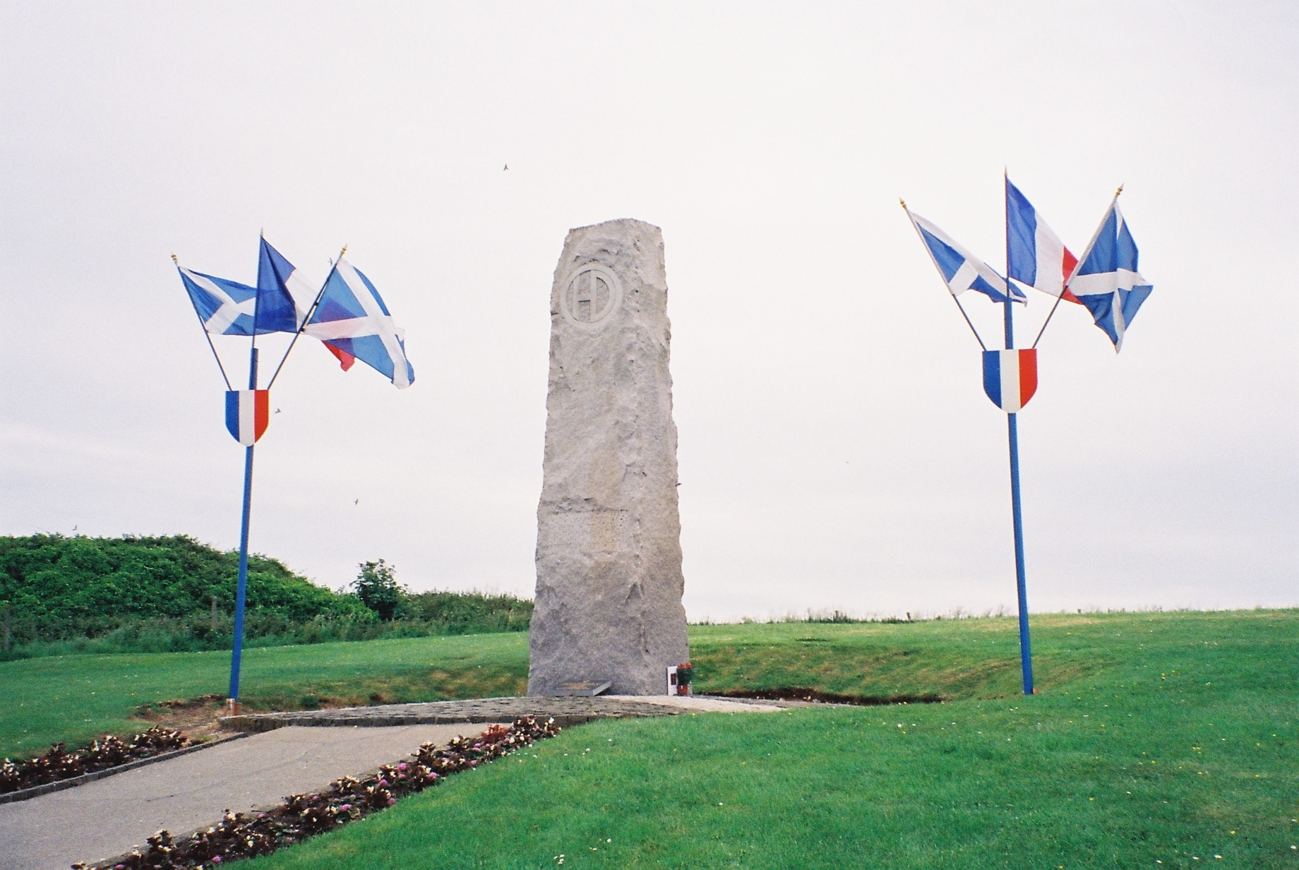 51st HD monument (photo taken June 2009)